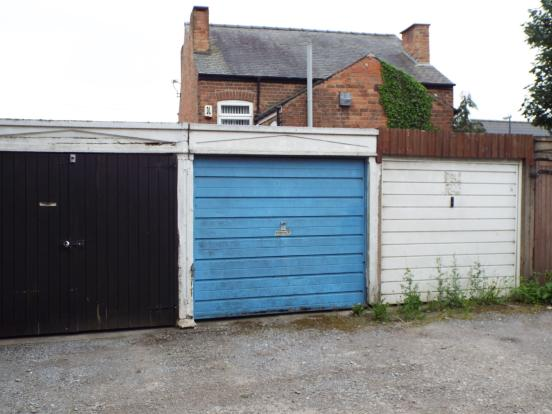 Garage In A Block