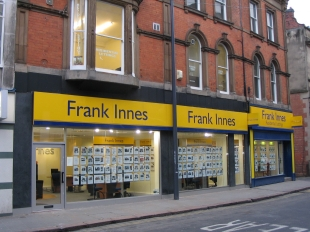 Frank Innes, Derbybranch details