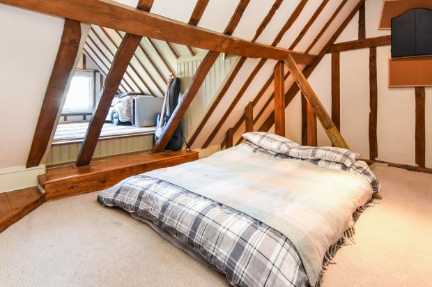 4 bedroom terraced house for sale in foresters cottages for Houses for sale with attic room