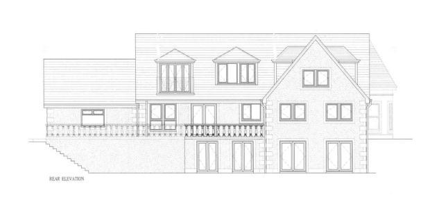 Proposed Hse - Rear