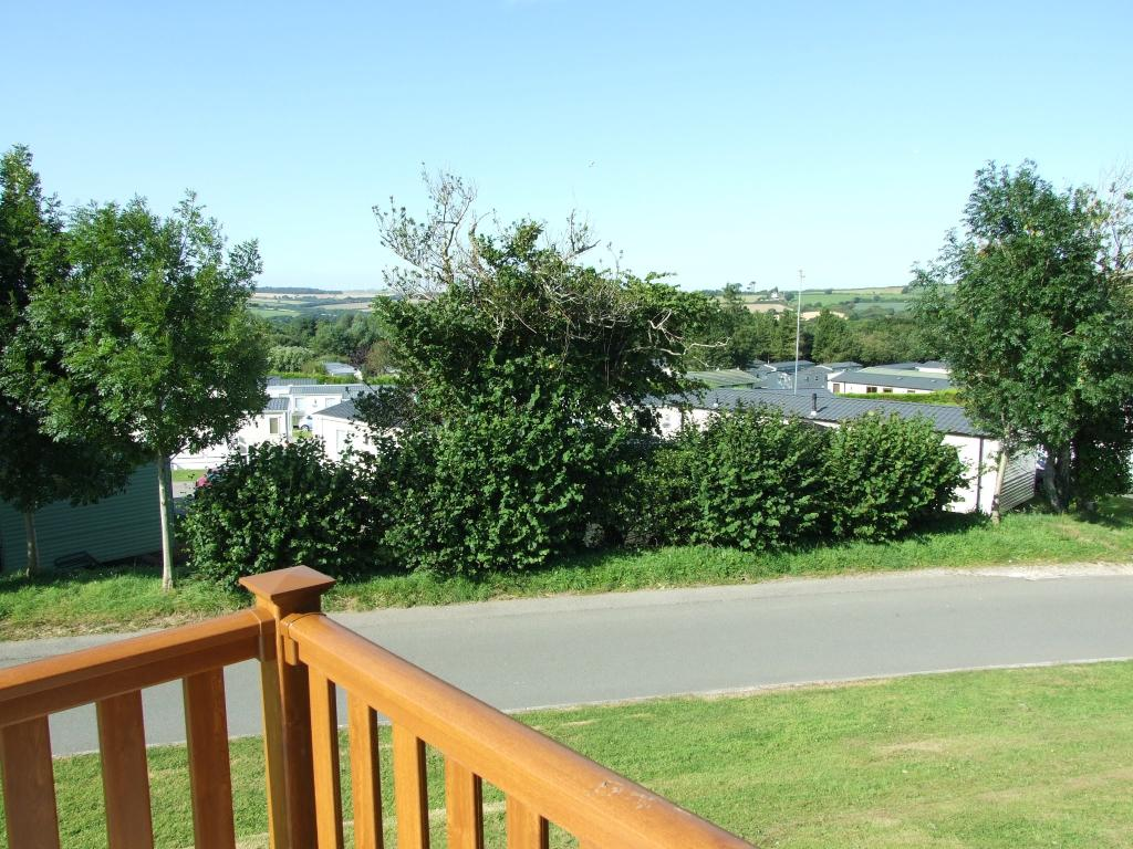 View From Decking