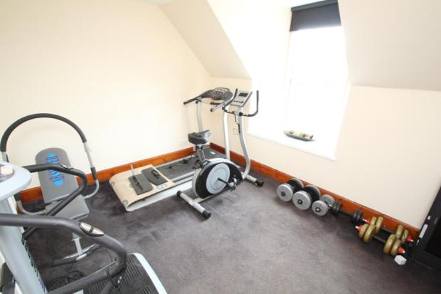 Gym/  Bedroom