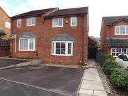 2 bed semi detached property in Finney Park Drive, Lea...