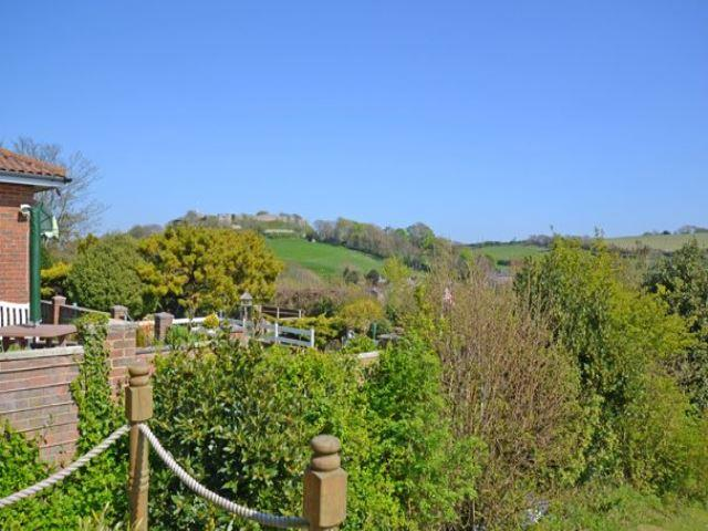 View of Carisbrooke