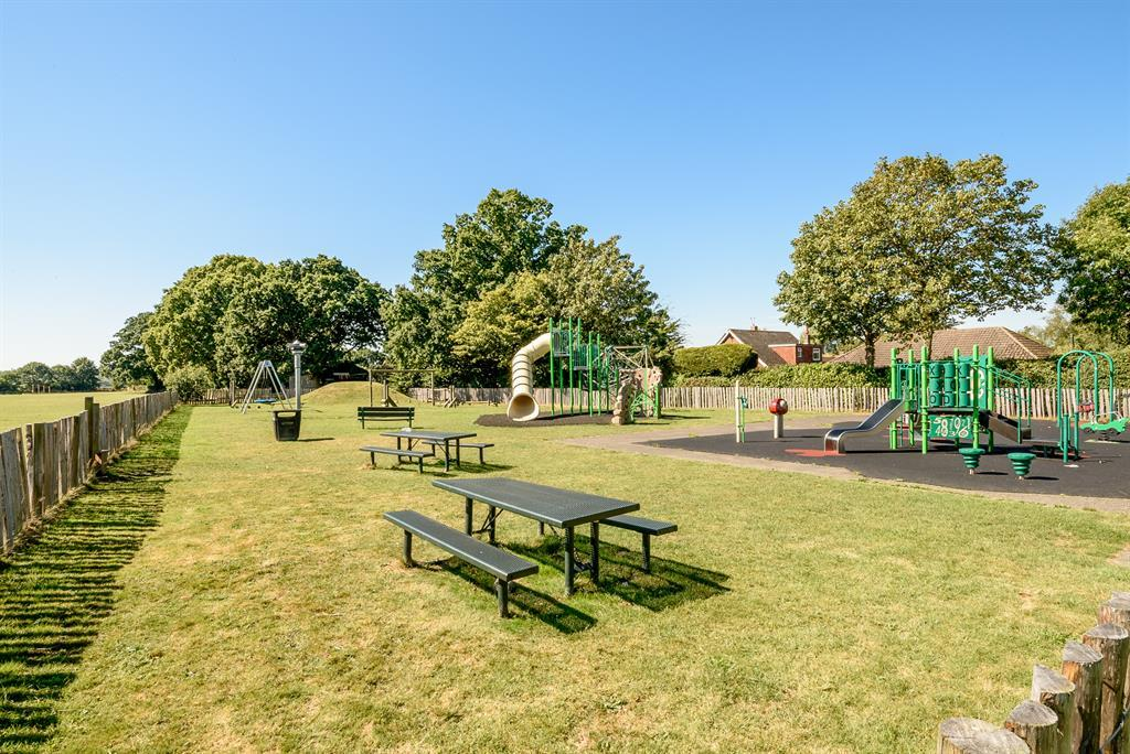 Play park opposite property