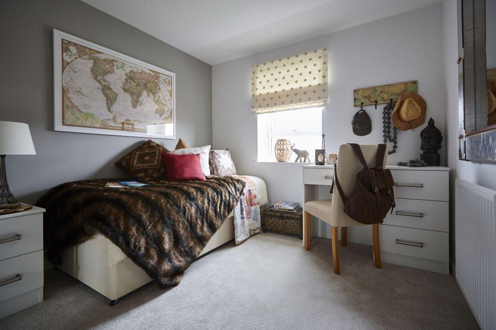 Typical Tetbury third bedroom
