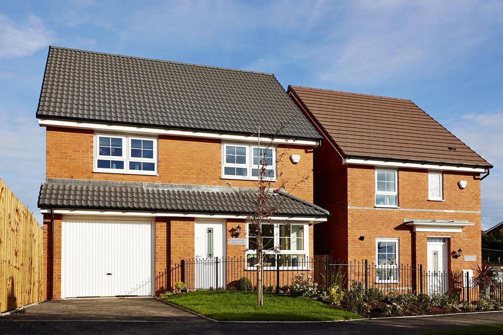 Bilberry Chase show home exterior