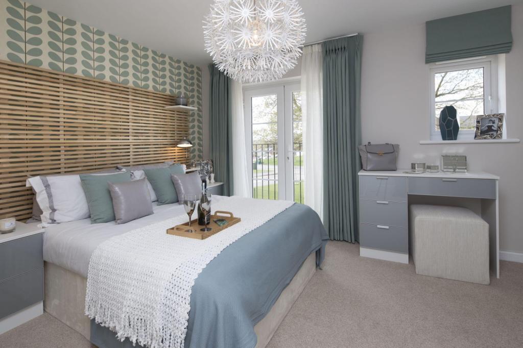 Typical Tavistock master bedroom
