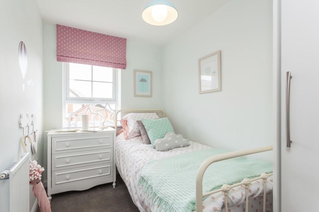 Typical Barwick third bedroom