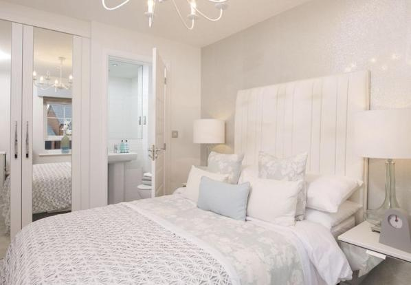 Typical Finchley master bedroom with modern en suite