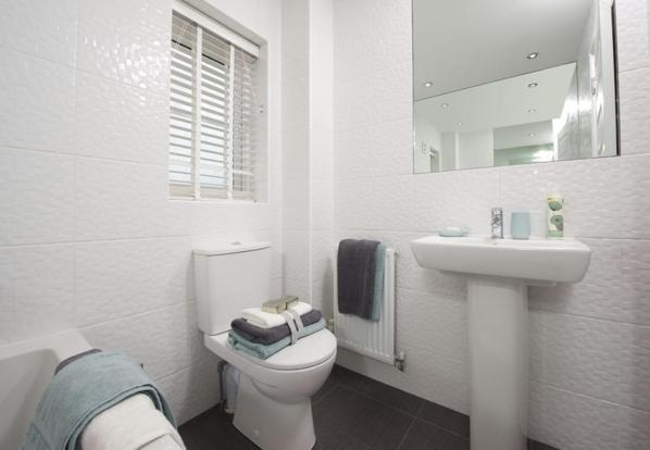 Typical Finchley family bathroom
