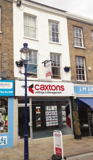 Caxtons Lettings and Management, Gravesendbranch details