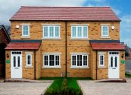 new house in Redmire Drive Consett...
