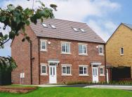 3 bed new house for sale in Redmire Drive Consett...