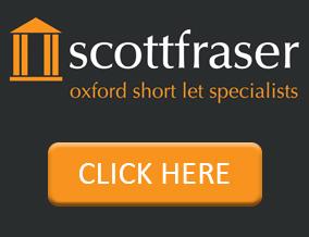 Get brand editions for scottfraser, Short Lets, Oxford