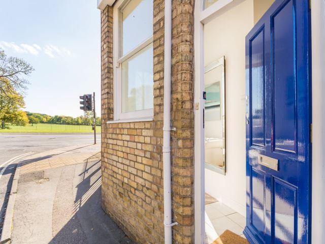 Front door with park