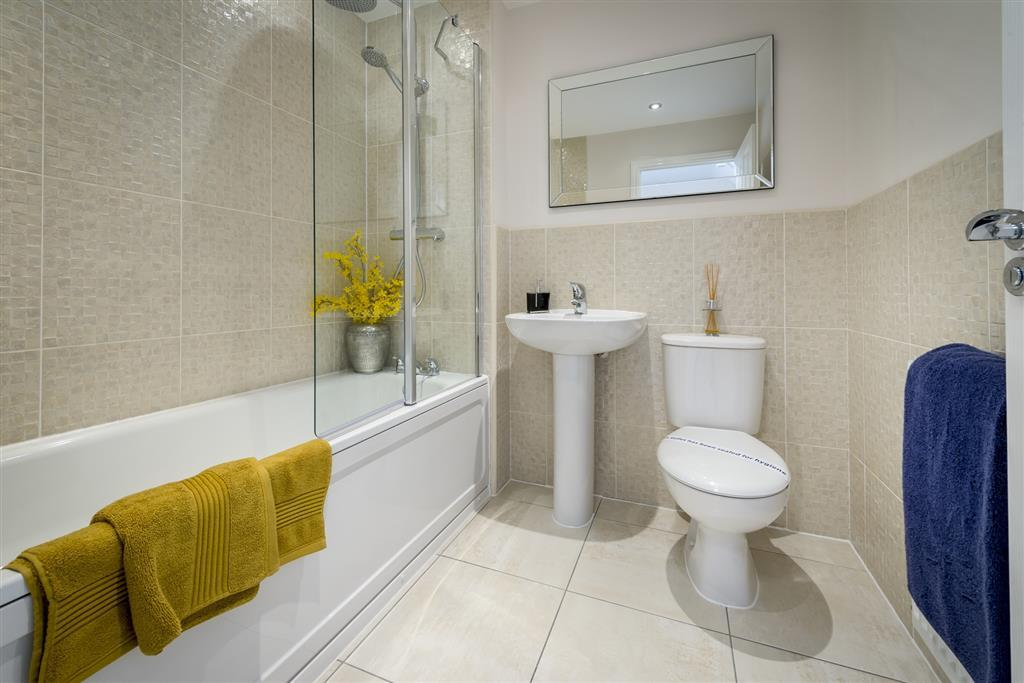 A typical Taylor Wimpey bathroom