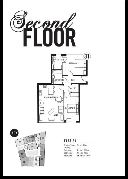 Apartment 31 Floorplan