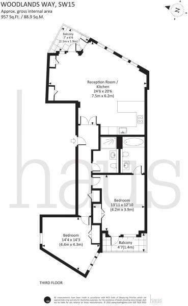 Apartment 5 Baybridge House