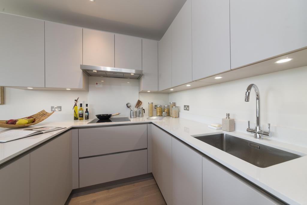 Show apartment kitchen detail