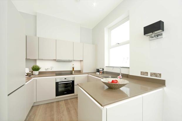 Ap.1 (showflat) Kitchen space