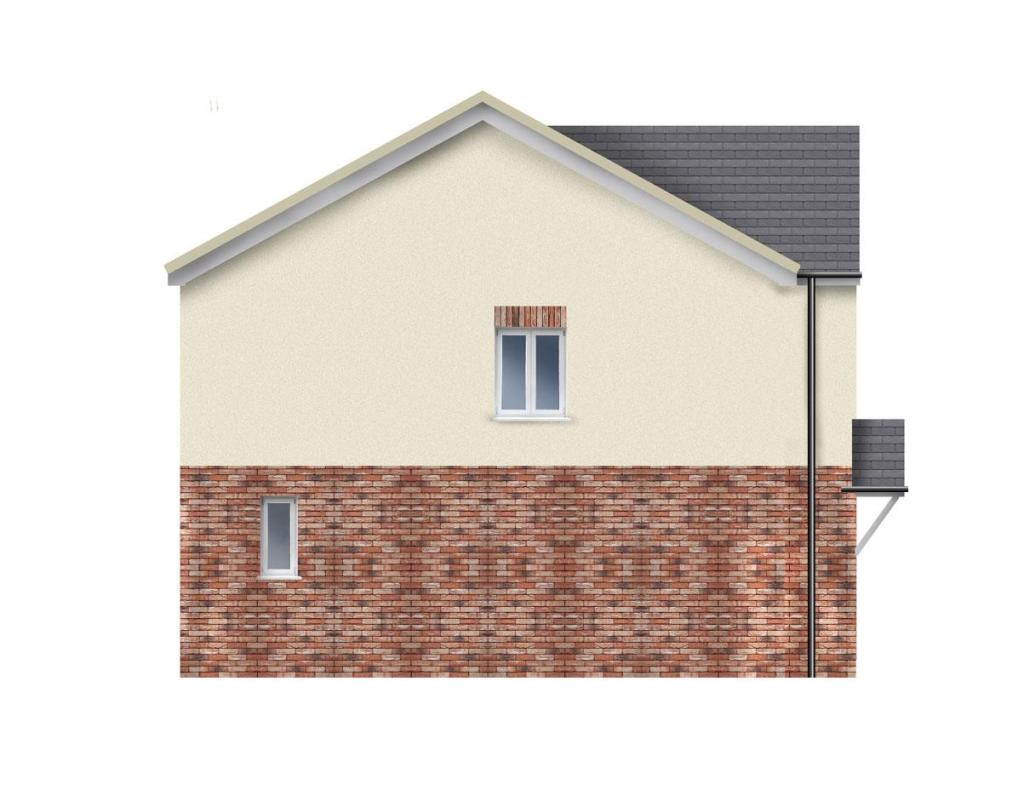 Plot 1 side elevatio