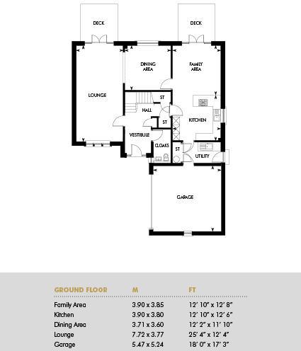 The Thorntonhall Melville, Floor 1
