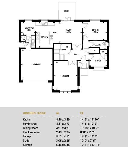 The Thorntonhall Ramsay, Floor 1