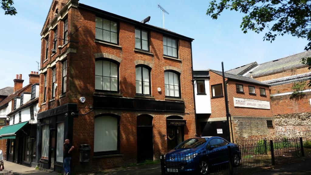 Car Park Colchester Priory Street