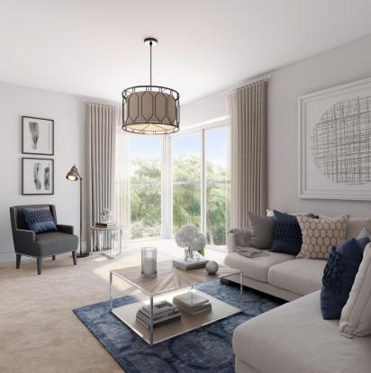 CGI Living Room