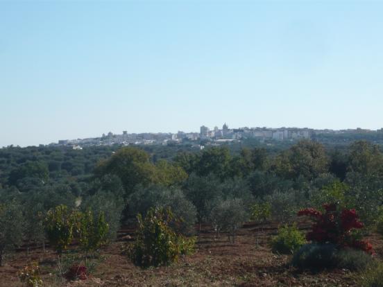 View of Ceglie Messapica