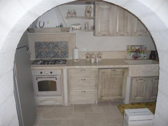 Kitchen in villa 1