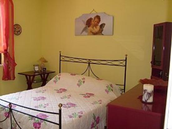 Master bedroom in Villa 1