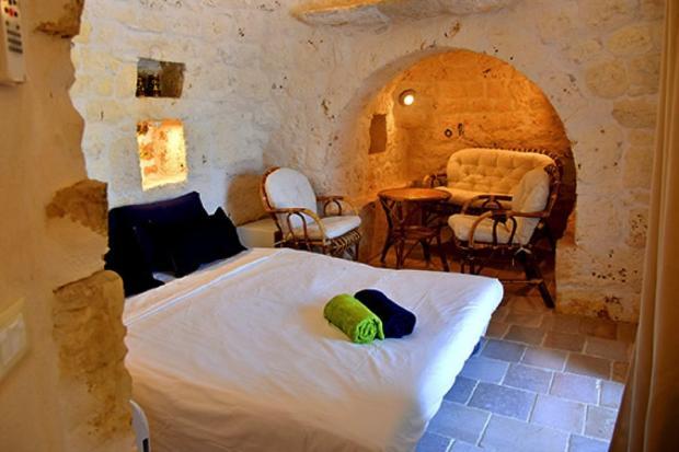 Annexe trullo bedroom