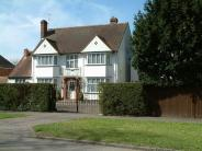 Detached property in Hitchin Road...