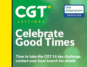 Get brand editions for CGT Lettings, Quedgeley