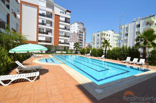 1 bed Apartment for sale in Antalya, Antalya, Antalya