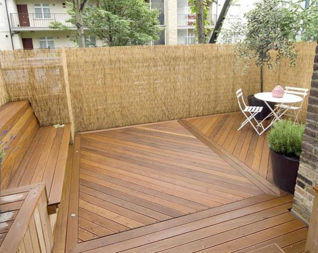 Decking urban garden design ideas photos inspiration for Garden decking quotes uk