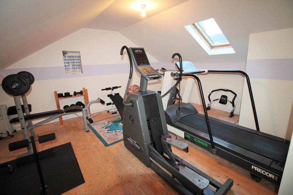 Gym/Garage Annex