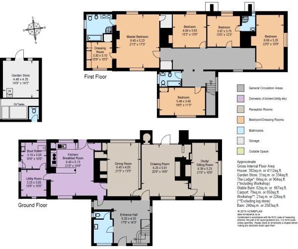 Floorplan - Peckhams