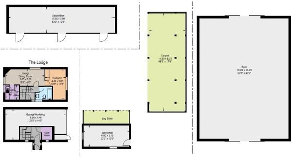 Lodge/Outbuidings