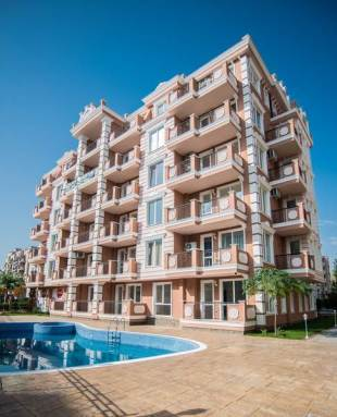 1 bed new Studio apartment for sale in Burgas, Sunny Beach