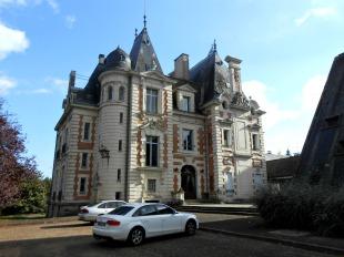 Castle in Pays de la Loire, Sarthe...