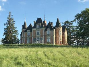 Castle in Sablé-sur-Sarthe, Sarthe...
