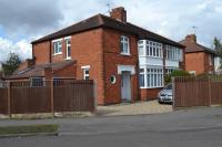 semi detached house for sale in Holden Crescent, Newark