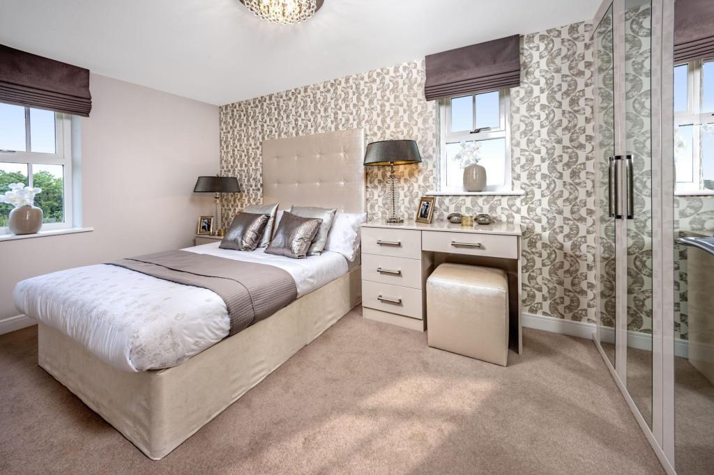 Stylish bedroom