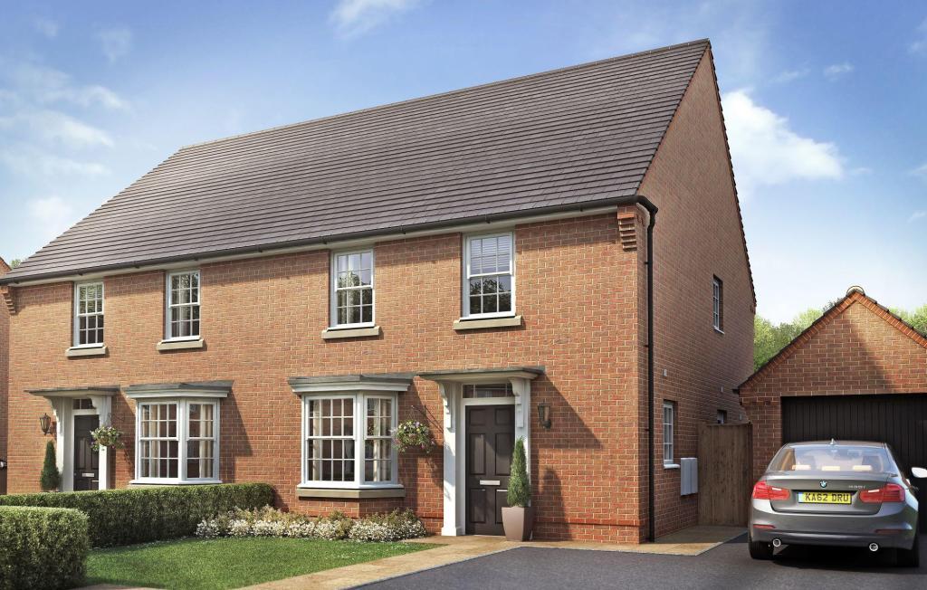 The Burghley house type at Preston Grange, Preston
