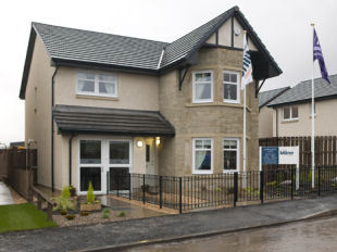 Strathearn View by Stewart Milne Homes, Hebridean Gardens,