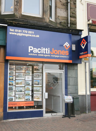 Pacitti Jones, Bishopbriggsbranch details