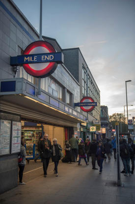 Close to Mile End St